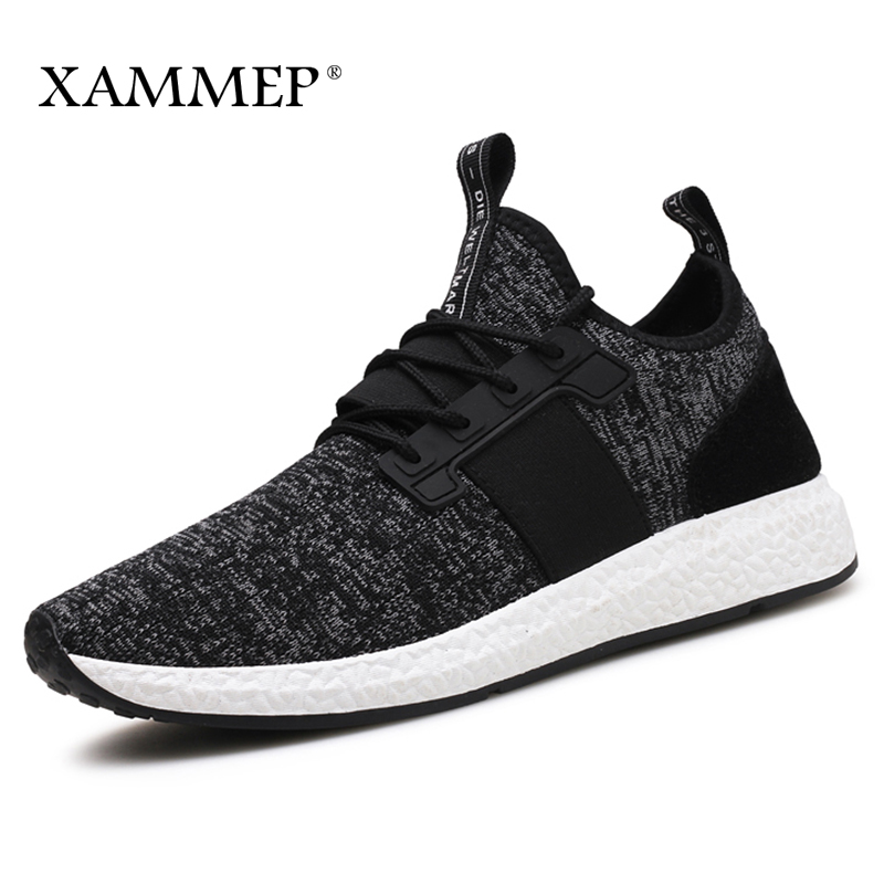 Men Casual Shoes Brand Men Shoes Men Sneakers Flats Slip On Mesh Loafers Male Breathable Plus Big Size Spring Autumn Xammep plus size 39 44 men spring shoes 2017 spring air mesh shoes men breathable casual shoes for men hombres zapatillas e62