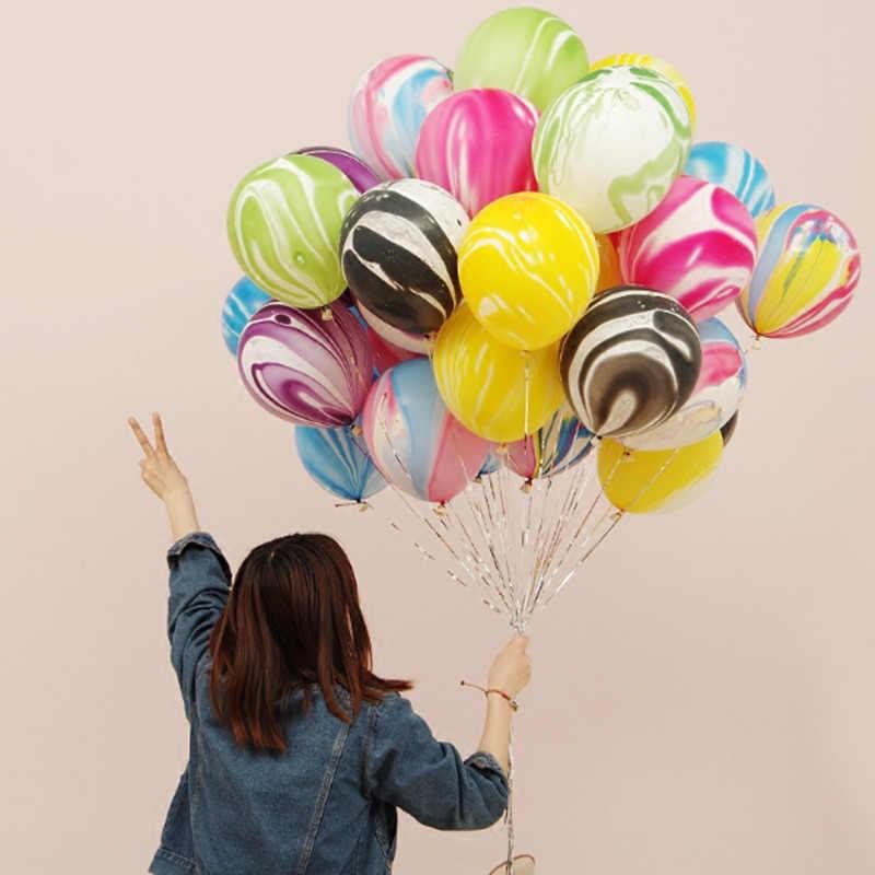 10pcs 12inch Printed Flower Cartoon Animal Ballons Latex Helium Inflatable Baby Shower Air Balls Wedding Decor Birthday Balloons