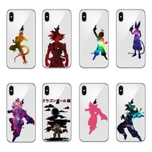 Watercolor DRAGON BALL Z  Goku Soft TPU Silicone Case Cover For Apple iPhone X 10 6 6SPlus 7 Plus 5 5S SE 8 8Plus