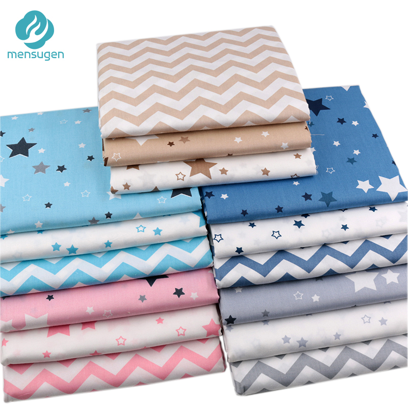 100/% Cotton Fabric Material Stars Craft Quilt FQ Metre  Best Quality !!!