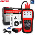 Autel MaxiDiag Elite MD802 4 Система Автомобильный Сканер ECU, ABS, подушка безопасности и Передачи Сканирование Инструмент MD802 Автомобиль Диагностический Инструмент