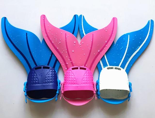 Mermaid Swim Fin Children Mermaid Tail Costume For Swimming Fins Aquarius Monofin Mermaid Tails For Swimming