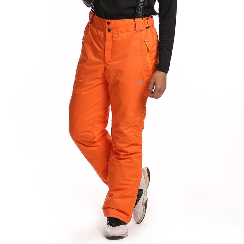 Prix pour Dropshipping new extérieure coupe - vent imperméable et respirant Double Layer hiver pantalons pantalons de ski de neige ski snowboard pantalons homme