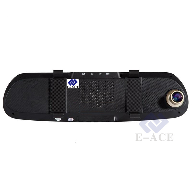 Rear View Mirror Dash Cam Full HD With GPS Navigator and Bluetooth Hands-Free