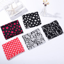 Spring and Autumn fashion cute baby cute imitation cashmere scarf soft and comfortable stars dot letter pattern bib collar