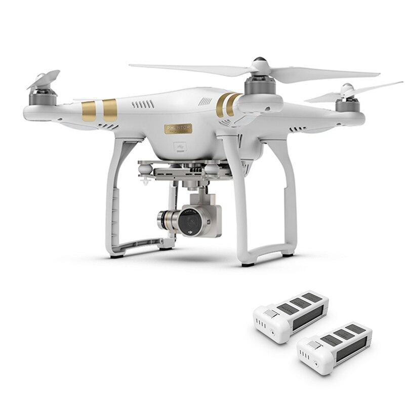 Original Phantom 3 profesional HD 4 K cámara de 3 ejes cardán RC helicóptero GPS FPV DJI Phantom 3 RC Quadcopter drone batería Extra