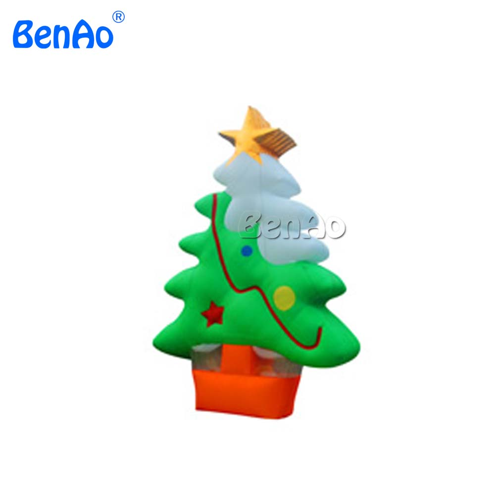 X055 China Factory Sale Custom Inflatable Tree Inflatable Christmas Products,Inflatable advertising product for Christmas 5m high big inflatable christmas santa claus climbing wall decoration 16ft high china factory direct sale festival toy