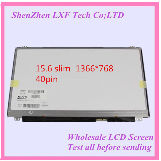 15.6 тонкий жк-матрицы Для ASUS U50VG X550C X502C X550E X502CA S56 556 K55C X501A A56C Y581C X550V A550C X501A notbook экрана 40pin