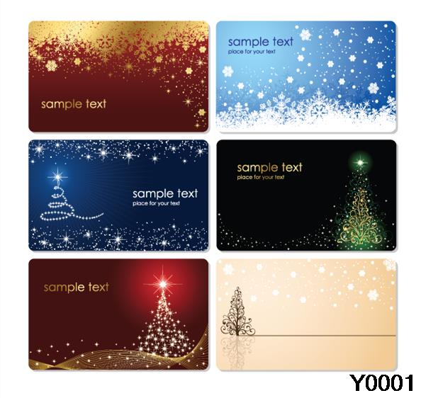 Superior Christmas Cards With Trees Star Sky Both Sides Printing Beautiful Cards  Y0043 In Business Cards From Office U0026 School Supplies On Aliexpress.com |  Alibaba ...