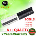 Wholesale New 8cells laptop battery  FOR  Asus Eee PC 901 904 1000 SERIES AL23-901 AL22-901 AP23-901 870AAQ159571  free shipping