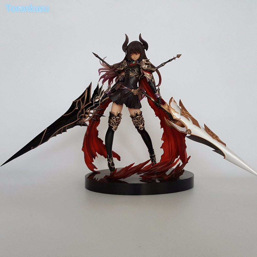 Rage of Bahamut Action Figure Forte The Devoted PVC Figure Toy 28cm Anime Game Rage of Bahamut Diadragon Collectible Model Doll 1 6 scale figure doll collectible model plastic toy terminator3 rise of the machines fembot t x 12 action figure doll