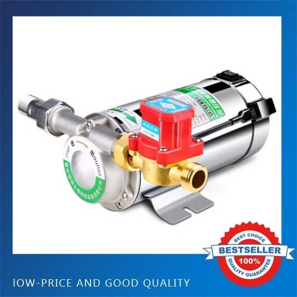 Acier inoxydable ménage automatique silencieux Booster 150 W 15L/min pompe chauffe-eau pompe à pression