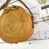 Bali Island Handmade Rattan Bow Circular Straw Woven 2