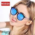 NOSSA Nuevo Diseño Chic Grandes gafas de Marco Gafas de Sol gafas de Sol de Colores de Moda Marca de Lujo de gafas de Sol Mujeres de Los Hombres