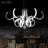 Modern Chandeliers and Pendants for room dining LED New Arrival Cryatal Cord Hanging Lamp pendant lighting