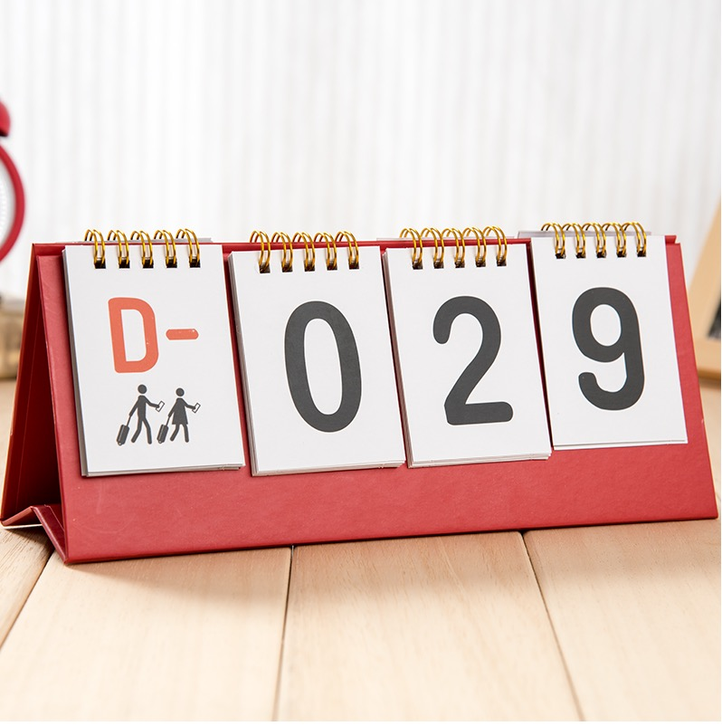 Calendar Countdown Wallpaper : Perpetual calendars creative desktop calendar table