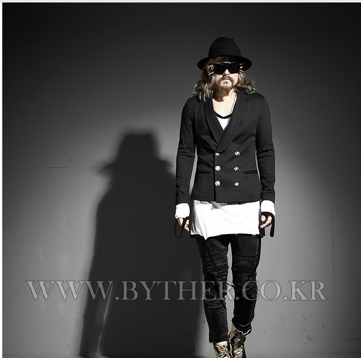 Livraison Petit Gratuite Double Taille s Blazer Mode Hommes Marque Vêtements Manteau Boutonnage De xxl Black Costume Veste Costumes Mince La Plus qdrnqCB