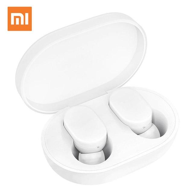 Xiaomi mi AirDots Bluetooth наушники TWS стерео беспроводные наушники-вкладыши гарнитура бас гарнитура Молодежная версия с mi c Handsfree
