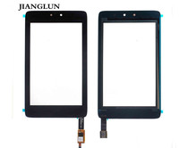 JIANGLUN NEW For HP SLATE 7 HD TABLET 7 DIGITIZER TOUCH SCREEN GLASS BLACK
