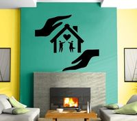 Wall Sticker Vinyl Decal Falling in Love Romantic Home Marriage Mural