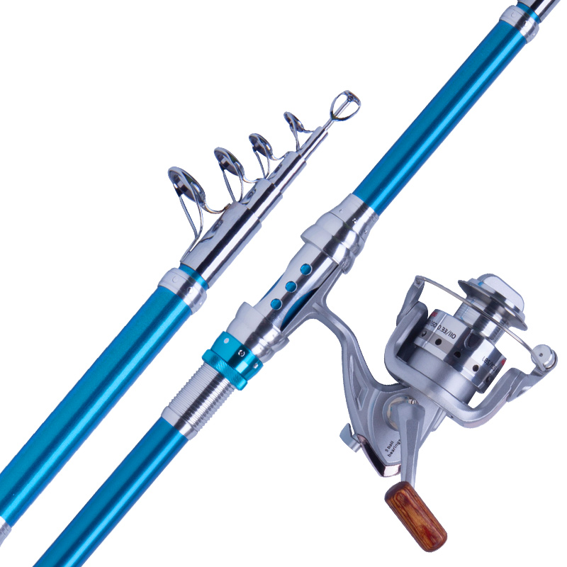 Hot sales 2.1/2.4/2.7/3 m distance throw rod telescopic fishing rod river/lake/pond fishing rods special offer 1 pcs lot 1 8 2 1 2 4 2 7 3 0 3 6 4 5 m carbon telescopic fishing rod river lake pond fishing rods