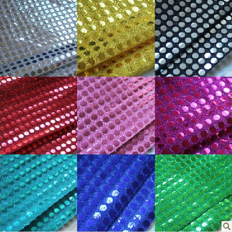 Adorno de lentejuelas 5m cinta de lentejuelas arco iris con Paillettes en cadena para Artes Artesanía Coser 12