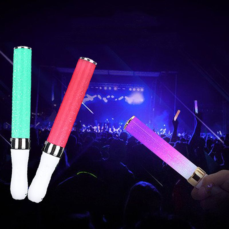 Vocal Concerts Glow Stick 15 Colors Change Glowing Led Magic Wand Sticks Highlight Flashing Air Conditioning Appliance Parts