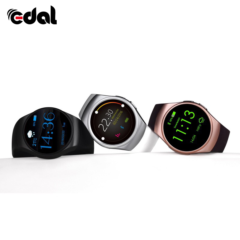 2018 New Bluetooth Smart Watch Phone Full Screen Support SIM TF Card Smartwatch Heart Rate Compatible IOS and Android s99a 1 33 inch touch screen 3g talk smart watch phone bluetooth 4 0 android 5 1 heart rate monitoring sim card smart watch