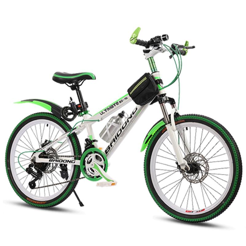 20/22/24/26 pouces vélo 21/24/27 vitesse variable VTT multicolore roue VTT Double frein à disque vélo