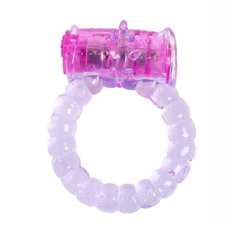 Silikon rosa Vibro Penisring Verzögerung Ring penis ring Große Sex-spielzeug für Männer...