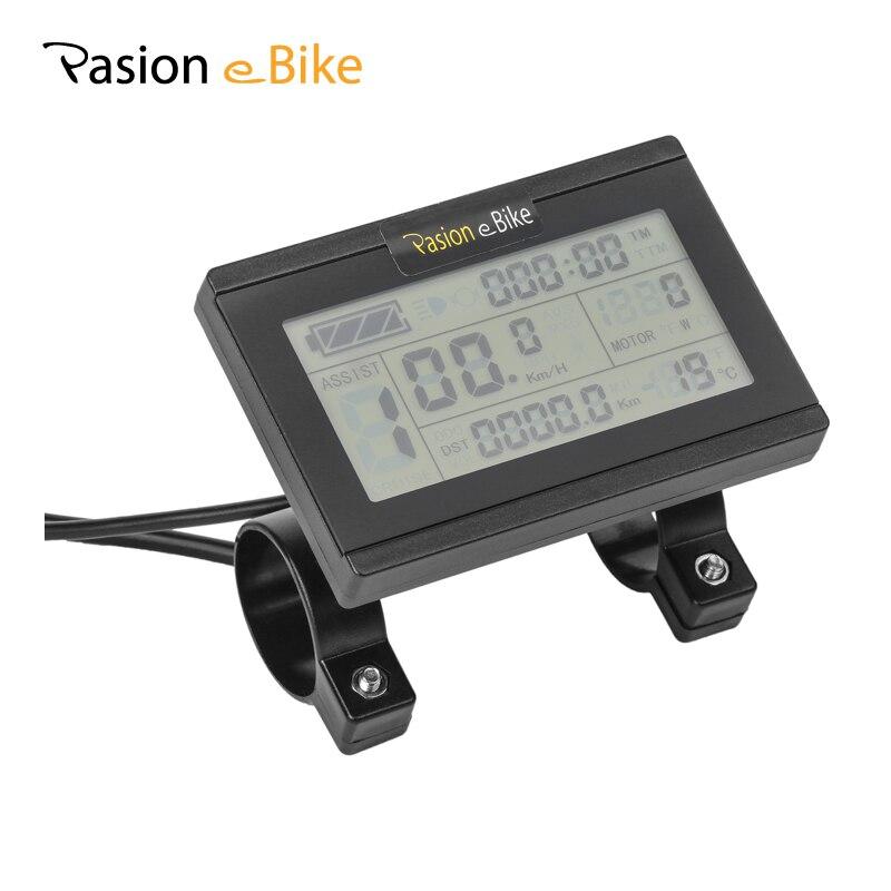Pasion e Bike велосипед 24 В 36 В 48 В Электрические части мотоциклов Интеллектуальная панель управления LCD3 дисплей LCD3 Дисплей Электрический компью...