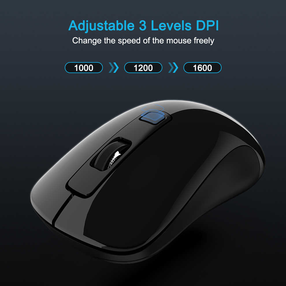 SeenDa новая 2,4 GHz USB3.0 Nano приемник беспроводная мышь для ноутбука эргономичная беспроводная мышь ПК мыши для настольного компьютера Mause