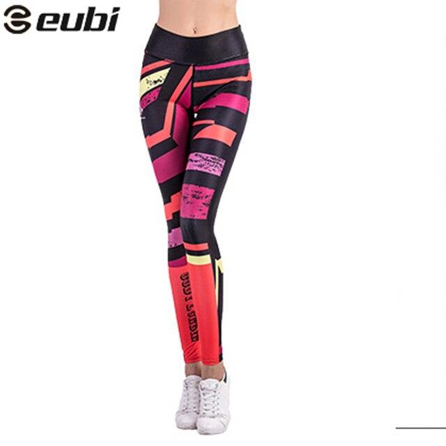 Eubi yoga legging pantalones leggins de fitness mallas para correr deportes  de las mujeres femme mujeres 7660883554a2
