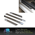 For VW JETTA MK4 MK5 MK6 Accessories Stainless Outer Door sill scuff plates Car Styling 2004-2015 4 Pcs