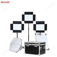 Falconeyes 140 Вт видео светодиодный свет Панель CRI95 затемнения светодиодный студия непрерывное освещение LP 2805TD комплект CD15