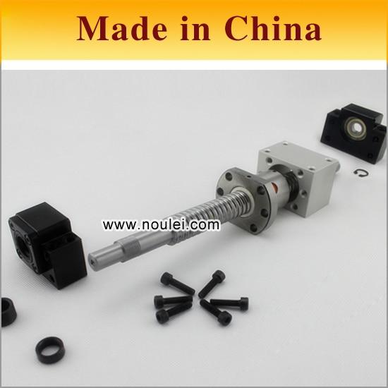 China C7 ROLLED ball screw RM1605 with ball nut SFU1605 + BK12 BF12 Support unit + MGD16  nut bracket  + 16MM shafts set sfu rm 1605 ball screw l450mm bk bf12
