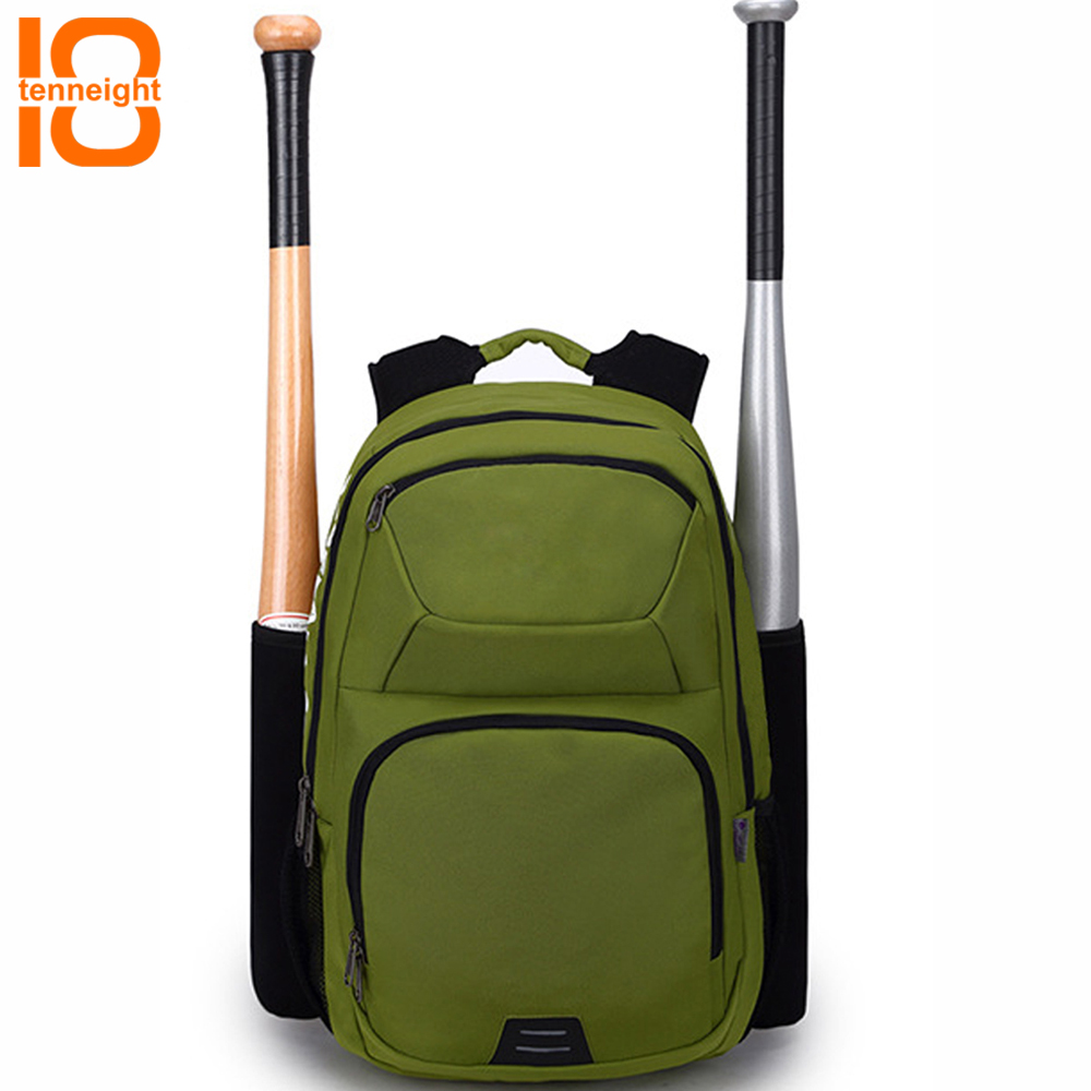 TENNEIGHT Youth Baseball Bat Bag Baseball T-Ball softball equipment backpack Suitable for youth and adults hold bat helmet glove sterbakov unisex embroidery youth letter baseball cap men s