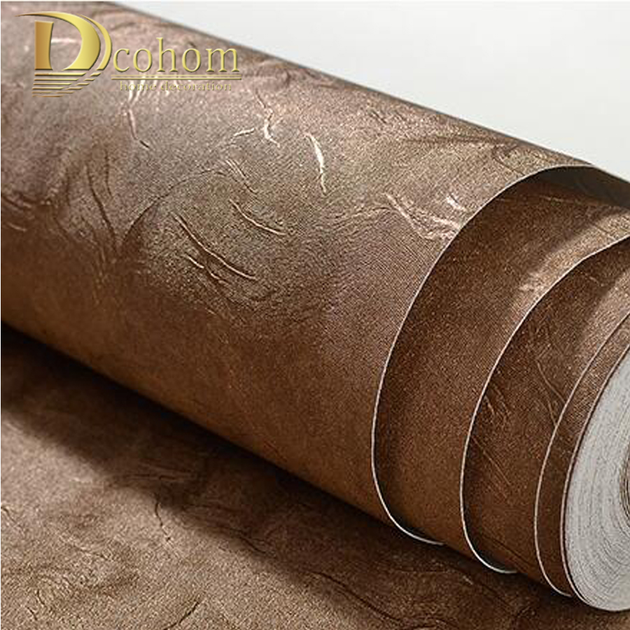 Modern Style Simple Plain Embossed 3D Wallpaper Solid Pure Color Textured Wall Coverings For Bedroom Living Room Background Deco modern linen wall paper designs beige non woven 3d textured wallpaper plain solid color wall paper for living room bedroom decor