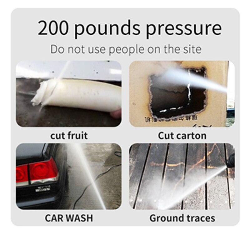 Шайба автомобиля, 220 В бытовые высокого давления, всасывание чище, щетка струей воды насос, само Стиральная Насос