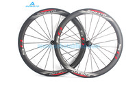 700c 27.25mm Carbon Clincher Road Wheelset 50MM hight