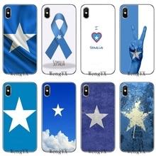 Сомали Национальный флаг баннер тонкий силиконовый ТПУ Soft phone Чехол для Apple Iphone 4 4s 5 5S 5C SE 6 6s 7 8 plus X XR XS Max