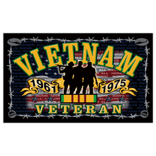 free shipping  Freedom Fighter Vietnam War Veteran Indoor/Outdoor 3 X 5 FT Flag