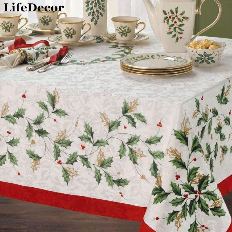 Online Get Cheap Lenox Christmas Tablecloth -Aliexpress.com ...