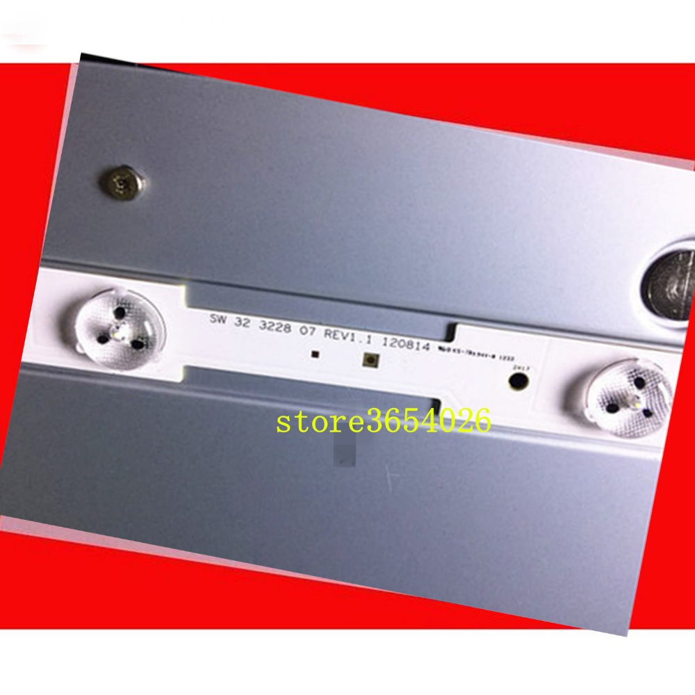 3piece/lot For Skyworth 32E350E 32E320W 32E306C SW323228 07 LBUA-SDL320X1-S08B SW 32 3228 07 REV1.4 580MM TV Strips