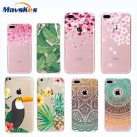 Soft TPU Silicon Case for iphone 6s 3D Relief Printing Pattern Back Cover Soft Case Coque Capa Funda for iPhone 8 7 Plus 5s SE 5