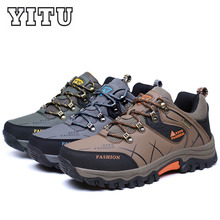 Men Hiking Shoes Professional Mountaineering Waterproof Climbing Boots Outdoor for Man Athletic Sneakers Outventure