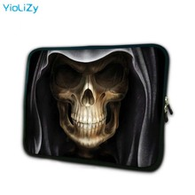 цена на Skeleton print 7.9 inch laptop sleeve soft notebook bag tablet case 7 mini PC protective cover for ipad mini 2 TB-3221