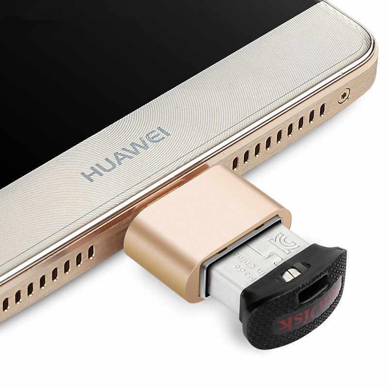 SIANCS USB OTG محول للكمبيوتر اللوحي سامسونج HTC شاومي أندرويد الهاتف المصغّر USB إلى USB OTG محول OTG محول الكابل فلاشة مزودة بفتحة يو إس بي
