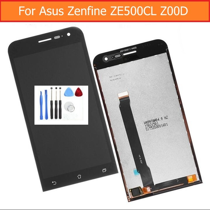 100 Genuine LCD Display and Touch Screen Digitizer Assembly For Asus zenfone 2 5 0 ZE500cL