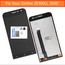 100% Genuine LCD Display and Touch Screen Digitizer Assembly For Asus zenfone 2 5.0″ ZE500cL Z00D with Repair tools free